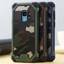 For Samsung Galaxy A6 J6 J4 2018 Note9 Army Military Camouflage Armor Case Cover