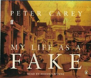 My Life as a Fake - Peter Carey CD Audio Book (5CDs)
