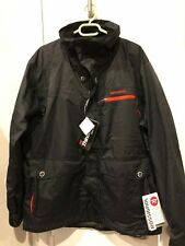 ROSSIGNOL MEN'S Medium Lightweight SKI JACKET BLACK/Red New w/tags Pristine
