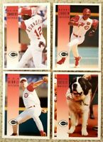 1994 Kahn's Complete Team Set Cincinnati Reds + Deion Sanders & Barry Larkin