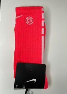 RARE Nike EYBL PEACH JAM 2021 Elite Socks size XL