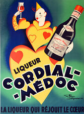 "20x30"" CANVAS Decor.Room design art print..Cordial Medoc.French Clown.6094"