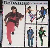 DeBarge – Rhythm Of The Night - 1985 gatefold LP record excellent
