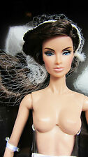 """Nude Fashion Royalty FR2 Anja: Agent 355 12"""" Doll New!!!"""