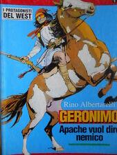 I Protagonisti del WEST n°1 1994 Geronimo Rino Albertarelli ed. Hobby Wo  [G321]