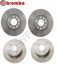 For SAAB 9-3 9-5 Set of 2 Front & 2 Rear Brake Disc Rotors Brembo