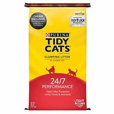 Purina Tidy Cats Clumping Cat Litter, 24/7 Performance Multi Cat Litter - 40 lb.