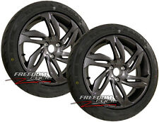 13-14 CAN-AM SPYDER RS ST RT FRONT WHEEL & TIRE PACKAGE 219400357 MOUNTED NEW!