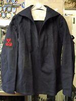 Chemise vareuse marinière en laine de la Marine Nationale taille 96 Indochine