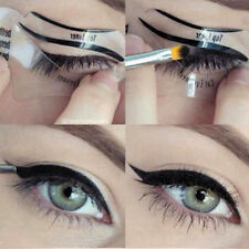 2 Pcs Eyeliner Stencil Models Template Shaper Cat Eye Line Make up Beauty Tool