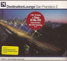 Destination Lounge San Francisco 2 (2CD + DVD) NEW/SEALED