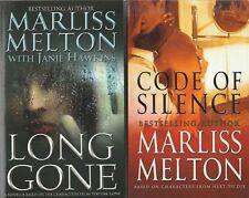 "Marliss Melton Code of Silence /Long Gone ""Navy Seal Team Twelve"" novella's"