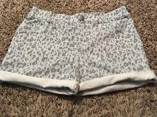 Circo Youth Girl Cotton Short Animal Print Gray Size 14 16