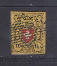 Switzerland ~ 1850 Rayon II - Type 6.B.Ro,  Sc# 8b  (au040)