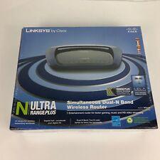 Linksys WRT610N-EU Simultaneous 4-Port Gigabit Dual-N Band Wireless Router EURO