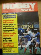 01/04/1981 Rugby World Magazine: April Edition - Complete Issue of the monthly m