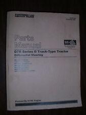 CATERPILLAR D7R SERIES II TRACTOR PARTS BOOK XEBP7389