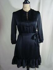 Victoria Secret Dress Vintage High Neck A Line Black Size X-Small D78