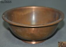 Collect Old Chinese Pure Bronze Copper Republic of China period Bowl cup Bowls