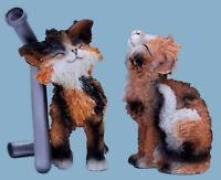 Catissimo Antonio & Angela Cat Figurines Collectables Gift Boxed Ornaments Cats