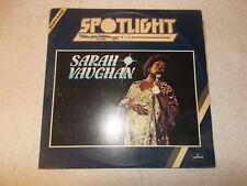 LP 12 inch Vinyl Record Album Spotlight on Sarah Vaughan