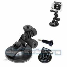 Refuelergy Mini Suction Car Mount Adapter+Tripod Adapter For GoPro Hero2 3 3+ 4