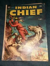 Indian Chief #8 Dell comics golden age western native american movie collection