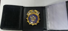 NY/NJ Police-Style Chief of Housing Bureau Money/Credit Card Wallet  CT-09