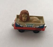 Thomas Tank Engine & Friends Sodor Zoo Lion Car Diecast Metal Learning Curve