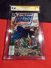 JUSTICE LEAGUE EUROPE # 8 CGC SS SIGNED BY BART SEARS 1989 GIFFEN DeMATTEIS JLA