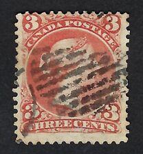 CANADA 1868 QUEEN VICTORIA Nº 25