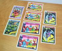 Vintage 1990 MARVEL COMICS TRADING CARDS Lot of 8 Impel Juggernaut Famous Battle