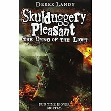 The Dying of the Light (Skulduggery Pleasant, Book 9) by Derek Landy (Hardback,…