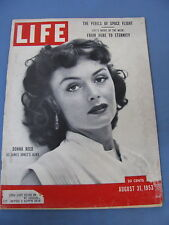 LIFE MAGAZINE AUGUST 31 1953 DONNA REED ATOMIC SUB NAUTILUS BROOKFIELD ZOO