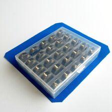 25 Pcs W/ Box Metal Bobbins For Pfaff Select 2.0 2.2 3.0 3.2 4.0 4.2 +