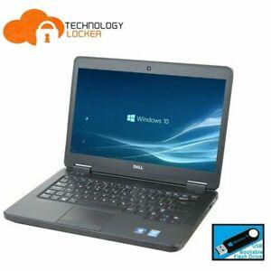 """Dell Latitude E5450 14"""" Laptop Intel i5-5200U 2.20GHz 8GB, 128GB SSD Wins 10"""