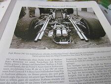 Formel 1 Archiv 2 Autos Motoren 2018 Eagle Weslake 1967