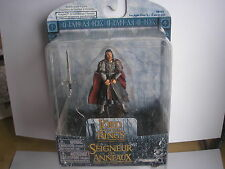 LOTR Armies of Middle Earth RARE Aragorn dans Gondorian Kings Armour Très Dernier