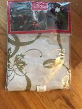 "LENOX VINTAGE NOUVEAU RIBBON Tablecloth, 60"" X 84"" Oblong NEW"