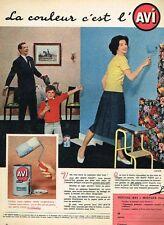 C- Publicité Advertising 1958 La Peinture AVI