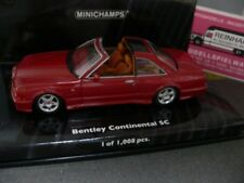 1/43 Minichamps BENTLEY CONTINENTAL SC 1996 rotmetallic 436139991