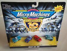 75030 Micro Machines BEST OF '88, T-Bird Porsche Ferrari De Tomaso Pantera, NIP