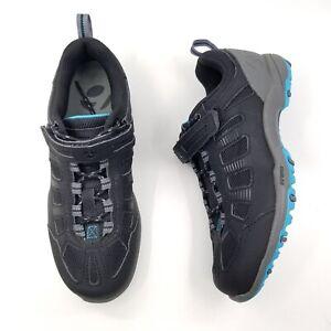 Bontrager SSR Women's Multisport Black Gray Cycling Shoes Size US 5.5 EU 37