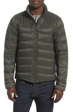 Canada Goose Men's Grey Brookvale Down Jacket Winter Coat Size Medium