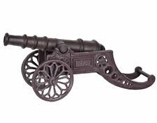 Kanone Gusseisen Gartendekoration Dekokanone Antik Metallkanone Geschütz Piraten