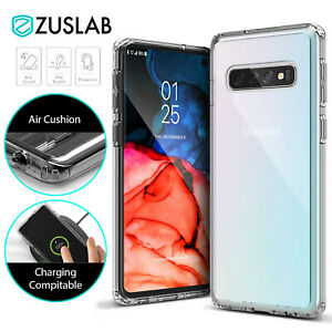 For Samsung Galaxy S10 S10e S9 S8 Plus S21 S20 Ultra Case Clear Heavy Duty Cover