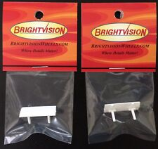 Two Redline Chaparral 2G White Replacement Wings - The Premier Reproductions!