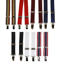 MENS MADE IN ENGLAND MADCAP ENGLAND MOD SKINNY Narrow Clip BRACES Suspenders
