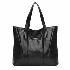 Retro Style Sheepskin Faux Leather Women Tote Bag Large Capacity ZIPPER Closures