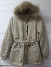 Women Ladies New Long Winter Thick Warm Padded FurHood Puff Parka/Coat/Jacket233